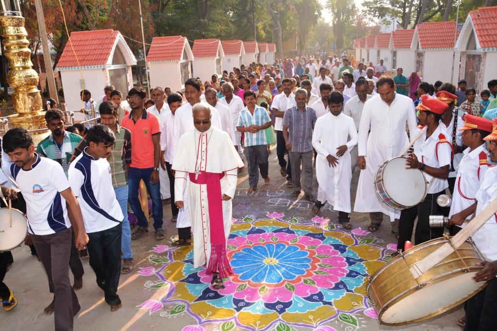 Sundarnachiapuram Pastoral visit