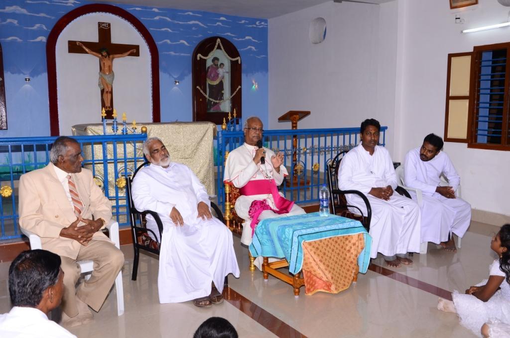 Batlagundu Pastoral visit