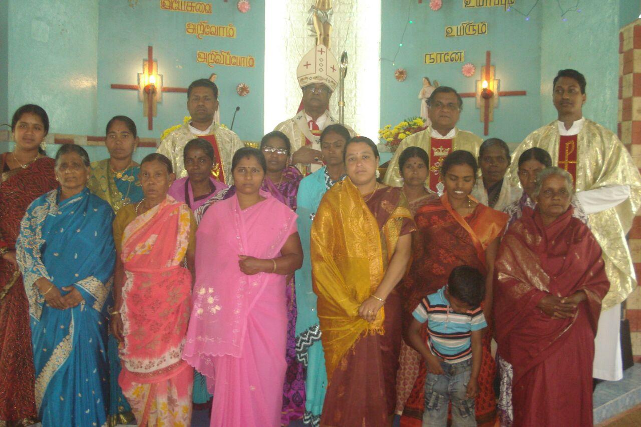 Mangalakombu Pastoral visit