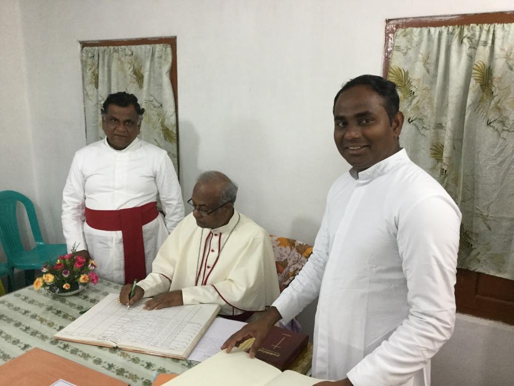Munjikkal Pastoral visit