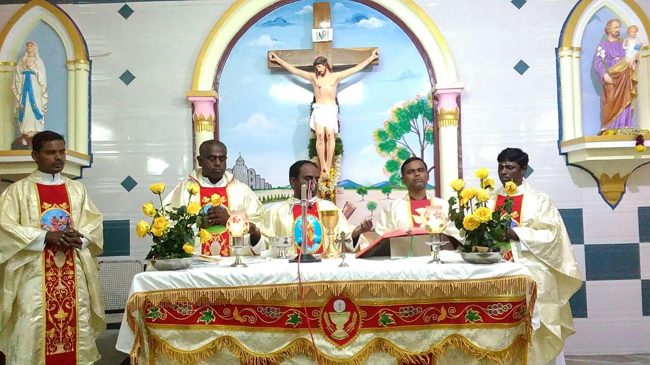 St. Thomas Church at Kansapuram, Parish of W. Pudupatti
