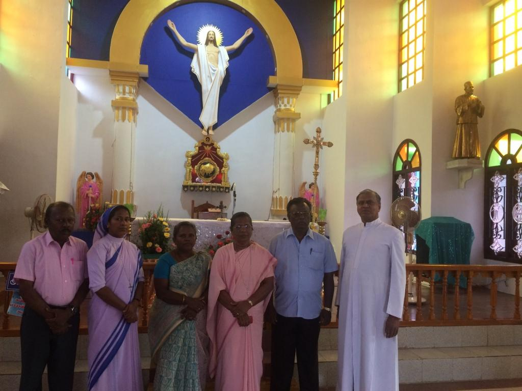 Dialogue Members praying